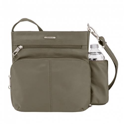ファッションブランド カジュアル ファッション 新作販売 アクセサリー TRAVELON クラシック NUTMEG クロスボディーバッグ CLASSIC ANTITHEFT バッグ 上品