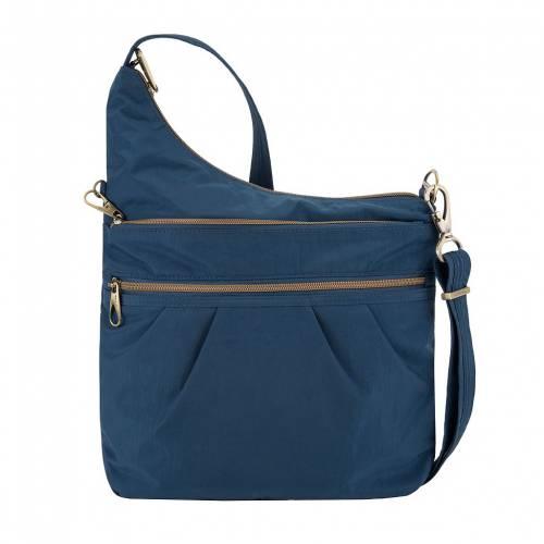 ファッションブランド カジュアル 70%OFFアウトレット ファッション アクセサリー 直営ストア TRAVELON OCEAN SIGNATURE ANTITHEFT クロスボディーバッグ バッグ