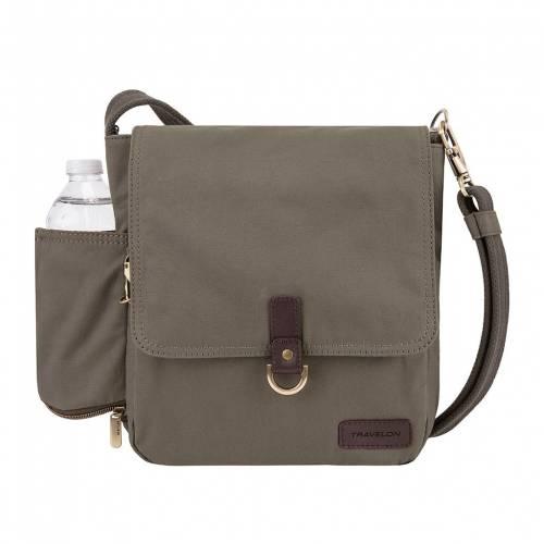 セールSALE%OFF ファッションブランド カジュアル ファッション アクセサリー TRAVELON バッグ 買収 TOUR ANTITHEFT BAG STONE COURIER