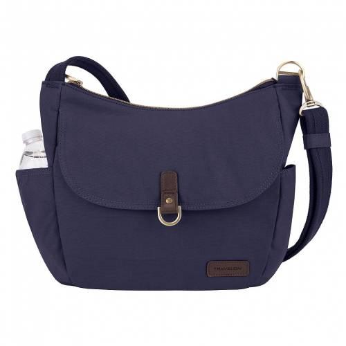 ファッションブランド カジュアル ファッション アクセサリー TRAVELON バッグ 紺色 ANTITHEFT NAVY 新生活 ネイビー HOBO ファクトリーアウトレット BUCKET BAG COURIER