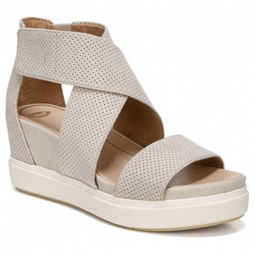 ファッションブランド カジュアル ファッション 限定価格セール サンダル ドクターショール DR. ウェッジ ディスカウント OYSTER SHEENA SCHOLL'S WEDGE SANDALS