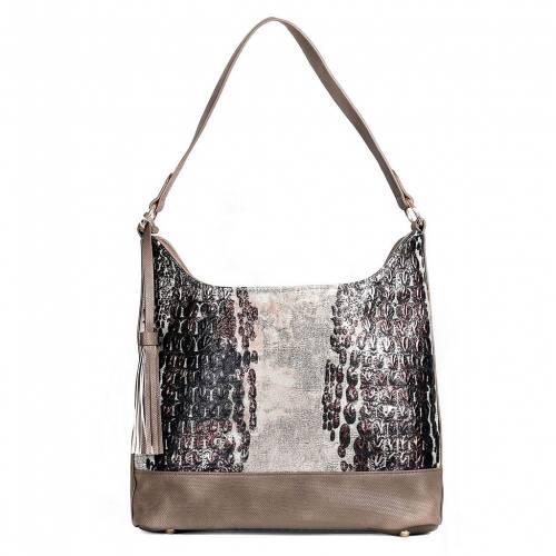 ファッションブランド カジュアル ファッション 高品質 ●日本正規品● アクセサリー KARLA HANSON バッグ HOBO BAG RFID EVA BLOCKING ベージュ BEIGE