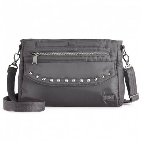 ファッションブランド カジュアル ファッション 70%OFFアウトレット アクセサリー 海外 LUG バッグ クロスボディーバッグ 2 CONT PACER GUNMETAL
