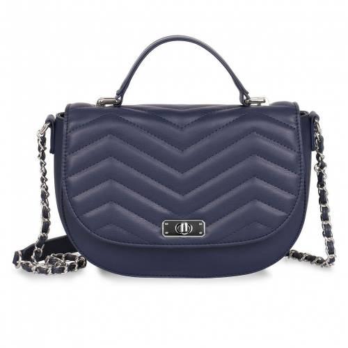 ファッションブランド カジュアル ファッション アクセサリー KARLA HANSON バッグ 紺色 ネイビー NAVY CROSSBODY WITH SABRINA RFID 最安値挑戦 BAG SADDLE PROTECTION 全品最安値に挑戦