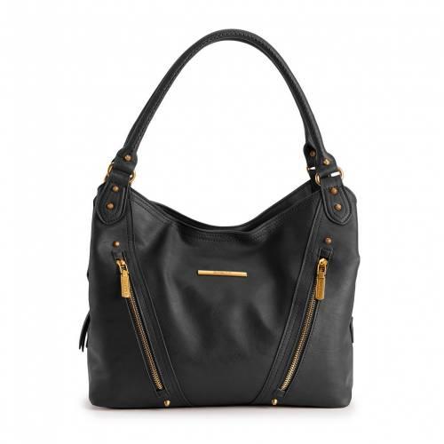 ファッションブランド カジュアル ファッション セール特価 アクセサリー ROSETTI 黒色 BLACK ブラック 4POSTER TABBY PURSE バッグ ふるさと割
