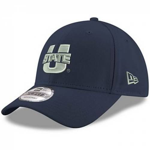 有名ブランド ニューエラ NEW ERA 紺色 ネイビー ユタ スケートボード アギーズ ニューエラ 【 STATE NAVY UTAH AGGIES HYPER 9FORTY ADJUSTABLE HAT UTS 】 バッグ キャップ 帽子 メンズキャップ 帽子, セブンエビス c80e5438