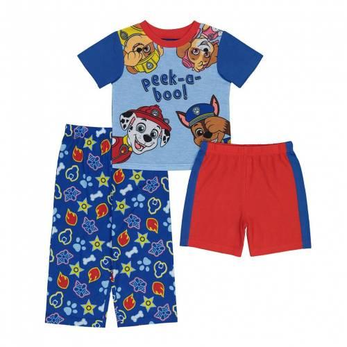 ファッションブランド カジュアル ファッション通販 ファッション キャラクター ベビー 赤ちゃん用 ジュニア キッズ LICENSED CHARACTER PEEK 3 PAW A BOO PAJAMA PIECE TODDLER 直営限定アウトレット PATROL SET