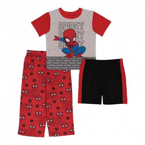 ファッションブランド 開催中 カジュアル いよいよ人気ブランド ファッション キャラクター ベビー 赤ちゃん用 ジュニア キッズ LICENSED CHARACTER ALWAYS PAJAMA PIECE TODDLER SPIDERMAN MARVEL SET 3 AMAZING