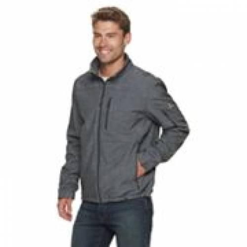 ZEROXPOSUR 灰色 グレー グレイ 【 GRAY ZEROXPOSUR ROCKER SOFTSHELL JACKET 】 メンズファッション コート ジャケット