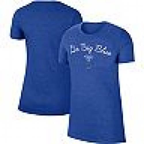 ナイキ NIKE ケンタッキー Tシャツ 青 ブルー 【 BLUE NIKE HEATHERED ROYAL KENTUCKY WILDCATS MARLED MANTRA TSHIRT KEN 】 レディースファッション トップス Tシャツ カットソー