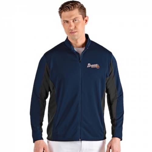 UNBRANDED アトランタ ブレーブス 青 ブルー 【 BLUE UNBRANDED ATLANTA BRAVES FULL ZIP JACKET BRV 】 メンズファッション コート ジャケット