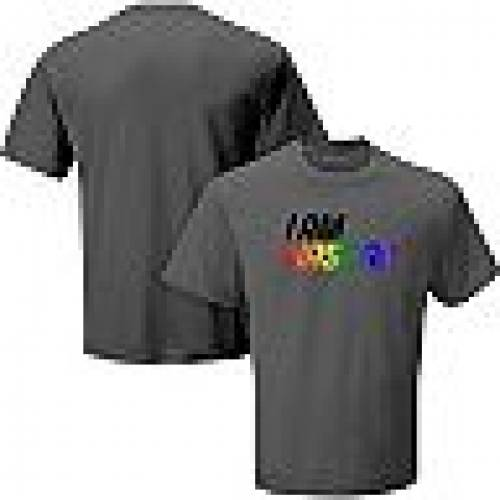 UNBRANDED チャコール Tシャツ 【 UNBRANDED CHECKERED FLAG CHARCOAL NASCAR PRIDE TSHIRT NAS CHARCO 】 メンズファッション トップス Tシャツ カットソー