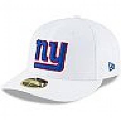ニューヨーク ERA WHITE NEW HAT 帽子 メンズキャップ PROFILE NEW 白色 【 ホワイト 帽子 バッグ GIA OMAHA ERA ニューエラ 】 59FIFTY  FITTED ジャイアンツ キャップ LOW