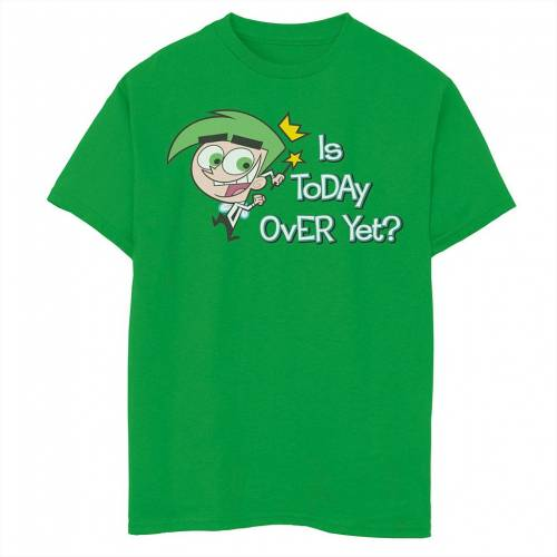TODAY ODDPARENTS OVER 【 トップス CHARACTER キャラクター CHARACTER スリーブ FAIRLY IS マタニティ LICENSED ベビー YET 半袖 TEE KELLY LICENSED キッズ Tシャツ THE 】 Tシャツ COSMO SLEEVE