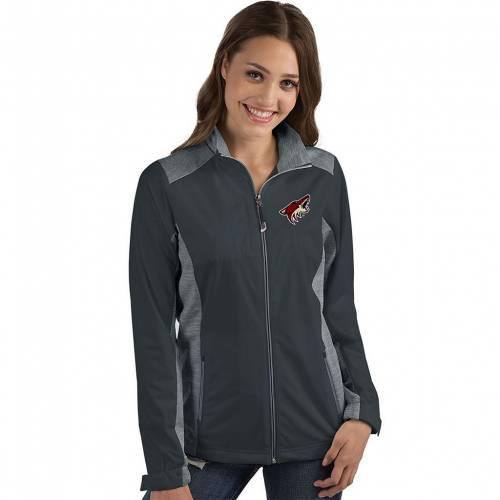 新入荷 流行 ファッションブランド カジュアル 入荷予定 ファッション ジャケット パーカー ベスト アンティグア ANTIGUA アリゾナ グレー 灰色 グレイ REVOLVE GRAY COY JACKET コヨーテズ