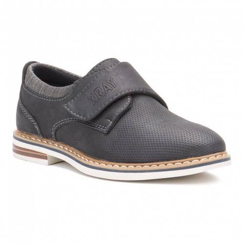 XRAY オックスフォード スニーカー 運動靴 黒色 ブラック S' ジュニア キッズ 【 XRAY MELVIN OXFORD SHOES BLACK 】
