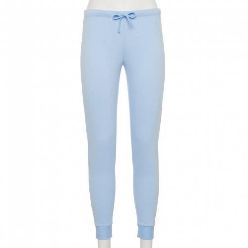 ファッションブランド カジュアル ファッション ズボン ボトムス 青色 ブルー ジュニア キッズ BOTTOM LIGHT BLUE PAJAMA SO 未使用 BANDED PANTS 新作続 FRENCH TERRY
