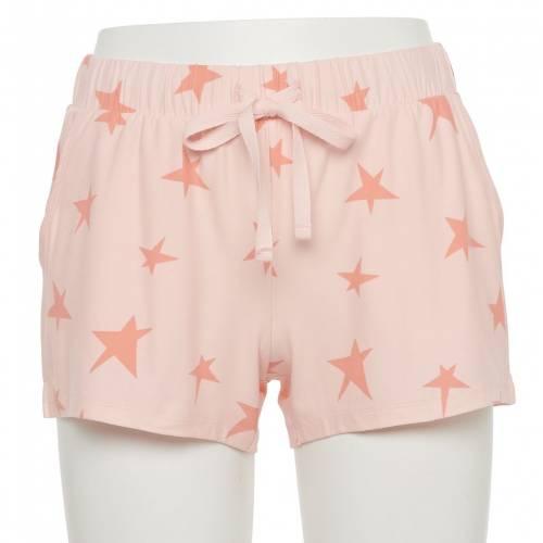 商舗 ファッションブランド カジュアル ファッション ショーツ 公式ストア ハーフパンツ スターズ ジュニア PAJAMA SHORTS キッズ STARS SO CORAL