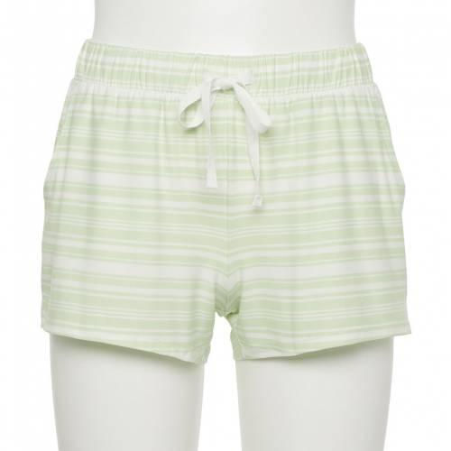 ファッションブランド カジュアル ファッション ショーツ ハーフパンツ 緑 グリーン オンラインショッピング 高級品 ストライプ STRIPE ジュニア GREEN キッズ SO SHORTS PAJAMA