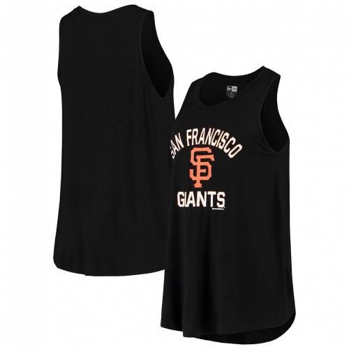絶品 ファッションブランド カジュアル ファッション タンクトップ ニューエラ NEW ERA エラ 黒色 サンフランシスコ チーム デポー トップス TEAM GNT BLACK ジャイアンツ レディースファッション ブラック