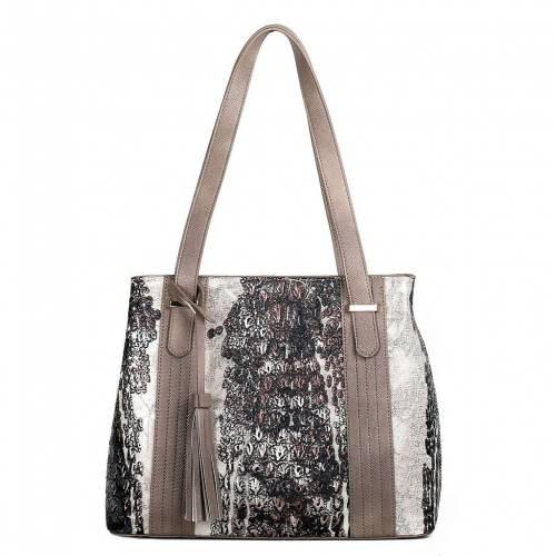 ファッションブランド カジュアル ファッション アクセサリー KARLA HANSON バッグ BAG RFIDBLOCKING 高品質 BEIGE ベージュ EVA TOTE [正規販売店]