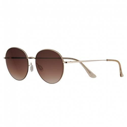 ファッションブランド カジュアル ファッション 誕生日プレゼント アクセサリー ELLE 定番スタイル クラシック サングラス 茶色 ブラウン BROWN バッグ CLASSIC THIN OVAL 53MM SUNGLASSES 眼鏡