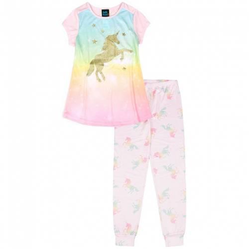 ファッションブランド カジュアル ファッション ピンク ジュニア キッズ 高品質新品 PINK JELLIFISH PANTS S SET 割引も実施中 UNICORN 416 TOP PAJAMA