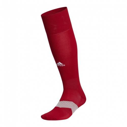 アディダス カジュアル ファッション ADIDAS サッカー 靴下 赤 レッド SOCCER RED マタニティ ベビー 品質検査済 DARK SOCKS 47 キッズ OVERTHEKNEE S 下 日本全国 送料無料