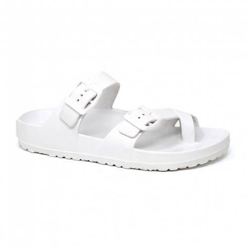 春の新作シューズ満載 ファッションブランド カジュアル ファッション サンダル YOKI 至上 オークランド OAKLAND SANDALS WHITE 白色 ホワイト 06