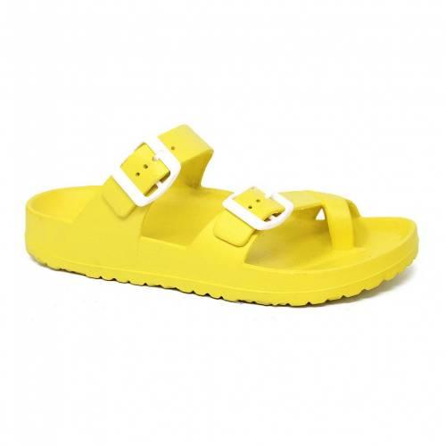 ファッションブランド 年末年始大決算 カジュアル ファッション サンダル YOKI オークランド 永遠の定番 黄色 YELLOW SANDALS イエロー OAKLAND 06