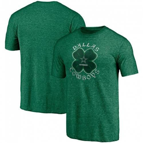 ファッションブランド カジュアル ファッション ファナティクス FANATICS 緑 グリーン ダラス カウボーイズ Tシャツ 卸売り ST. OUTLET SALE PATRICK'S KELLY トップス カットソー COW CELTIC TSHIRT GREEN BRANDED TRIBLEND DAY メンズファッション