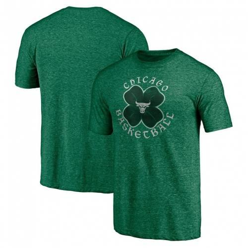 ファッションブランド カジュアル ファッション ファナティクス FANATICS 緑 グリーン シカゴ ブルズ Tシャツ メンズファッション 驚きの値段 GREEN トップス CELTIC カットソー 爆売りセール開催中 BUL TSHIRT TRIBLEND BRANDED HEATHERED