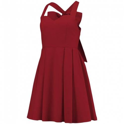 ファッションブランド カジュアル ファッション UNBRANDED 新商品!新型 ジェームズ クリムゾン ドレス 赤 レッド RED LAUREN SEERSUCKER LIVINGSTON JAMES CRIMSON レディースファッション THE トレンド DRESS NC2