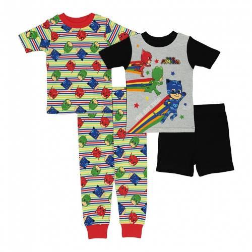 ファッションブランド カジュアル 毎日激安特売で 営業中です ファッション キャラクター ベビー 赤ちゃん用 チーム ジュニア キッズ TEAM MASKS PJ 驚きの値段で PAJAMA SET 4PIECE CHARACTER LICENSED TODDLER WORK MULTI