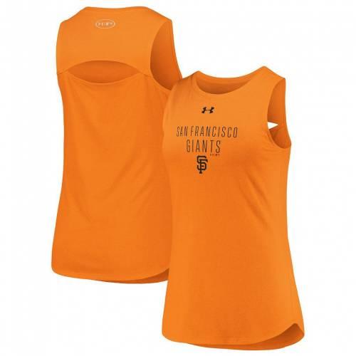 ファッションブランド 与え 超目玉 カジュアル ファッション タンクトップ UNBRANDED 橙 オレンジ ジャイアンツ シティ エア パフォーマンス AIR PERFORMANCE ARMOUR GNT ORANGE トップス サンフランシスコ CITY UNDER レディースファッション タンク