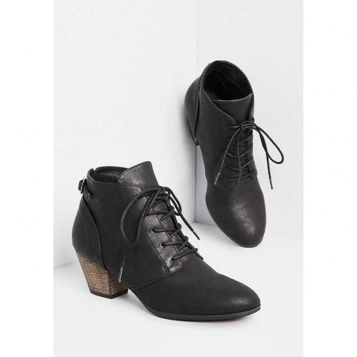 CHELSEA CREW 【 You Know What I Demeanor Bootie 】 Black