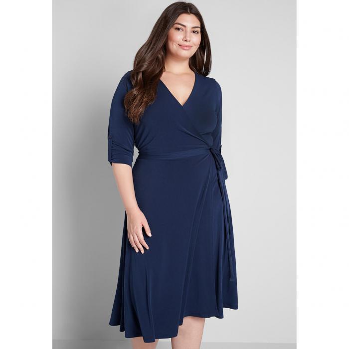 MODCLOTH ドレス レディースファッションSay Yes To Timeless Midi DressNavygYbf7y6