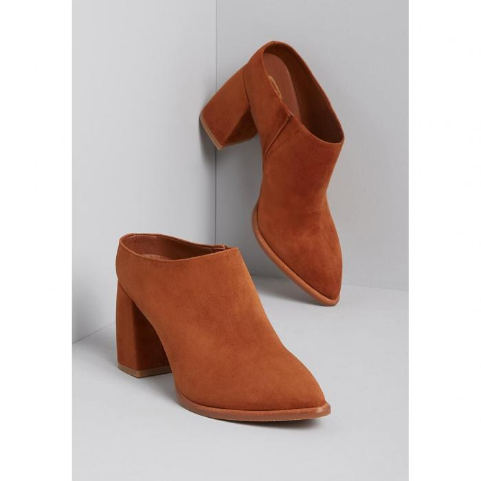 SBICCA スムース スエード スウェード 【 SMOOTH STEP SUEDE UPPER MULE WHISKEY 】 送料無料
