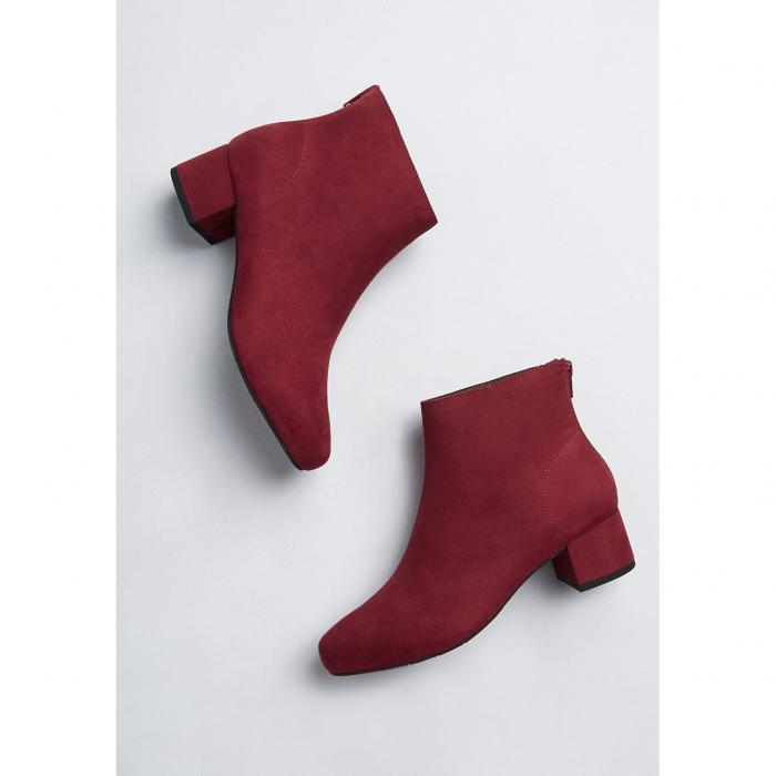 SEYCHELLES ブーツ 【 Anything Is Possible Ankle Boot 】 Burgundy