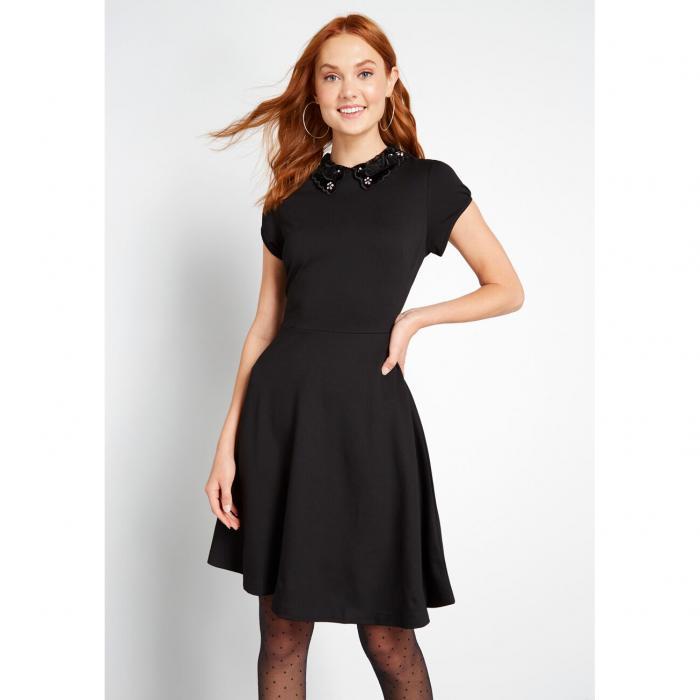 HELL BUNNY タッチ 【 A GLITZ TOUCH ALINE DRESS BLACK 】 レディースファッション ドレス 送料無料