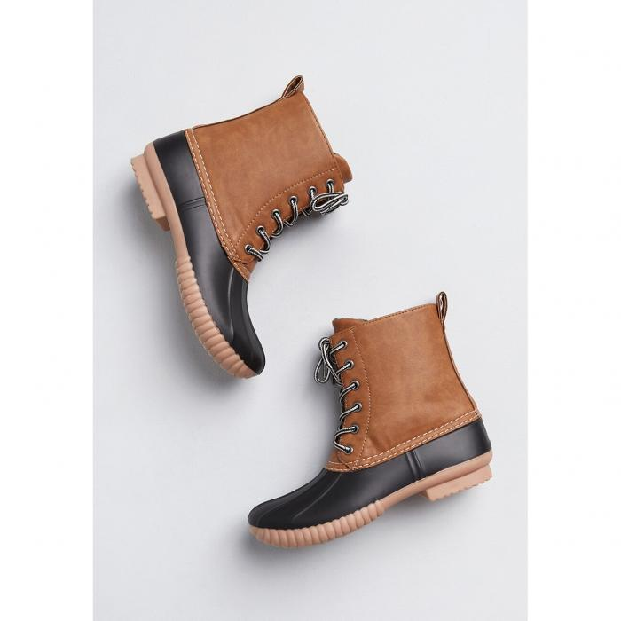 NO_BRAND_SHOWN ブーツ 【 No Stopping Me Duck Boot 】 Tan