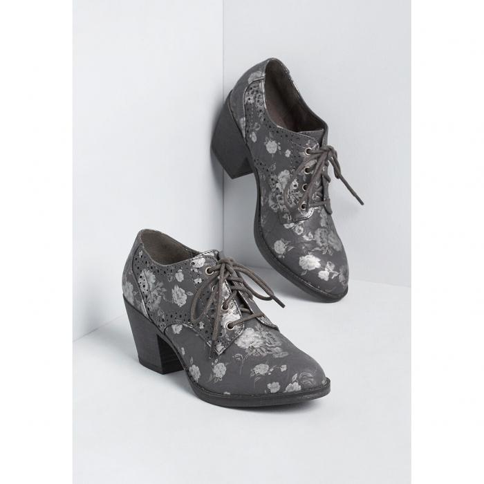 ROCKET DOG 【 KEEP UP WITH ME LACEUP BOOTIE GREY FLORAL PRINT 】 送料無料