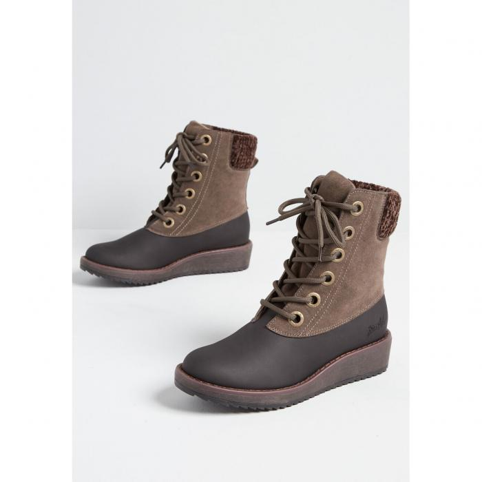ブローフィッシュ BLOWFISH ウォーク 【 Walk With Me Lace-up Bootie 】 Brown/sage Green