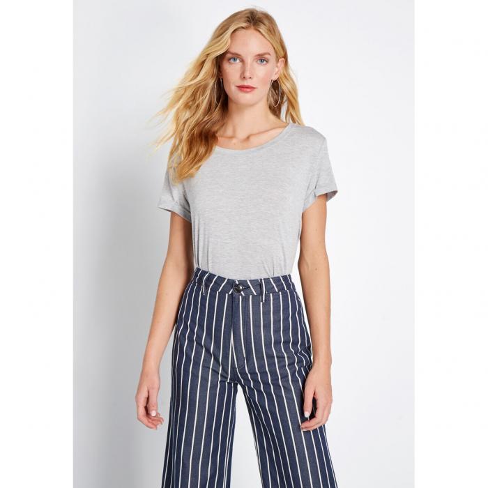 NO_BRAND_SHOWN レディースファッション チュニック 【 Simplicity On A Saturday Tunic 】 Heather Grey