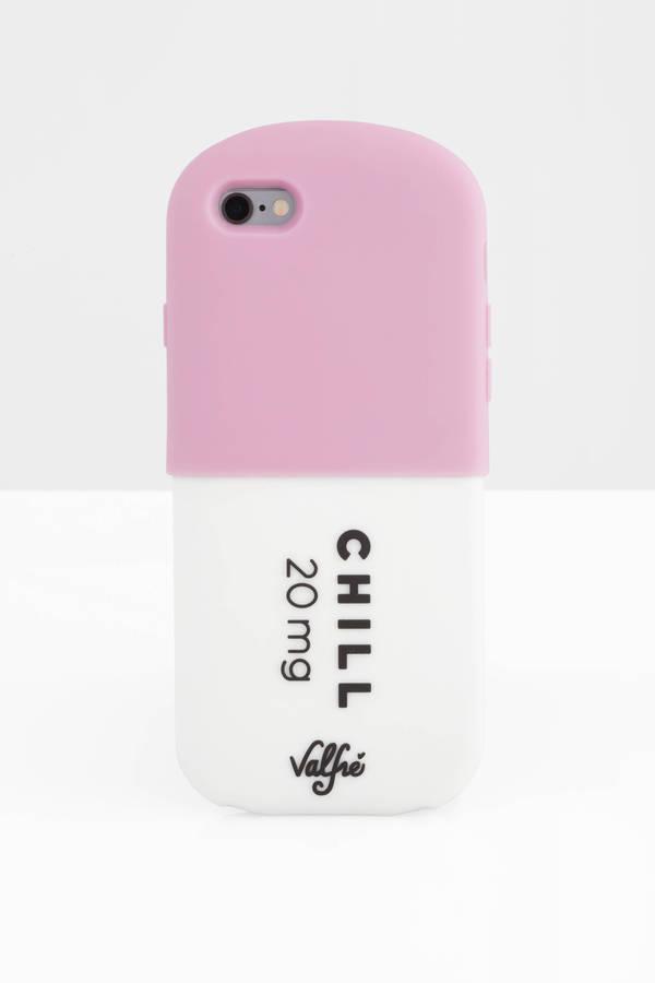 TOBI ケース スマートフォン タブレット 携帯電話 アクセサリー 【 Chill Pill 3d Iphone 6 Case 】 Pink