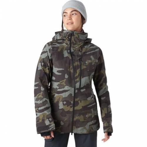 ファッションブランド カジュアル ファッション ジャケット パーカー ベスト ボルコム VOLCOM 日本未発売 ゴアテックス 緑 グリーン SERVICE JACKET アウトドア GORETEX 時間指定不可 スキー スポーツ ウインタースポーツ レディース NYA TDS GREEN