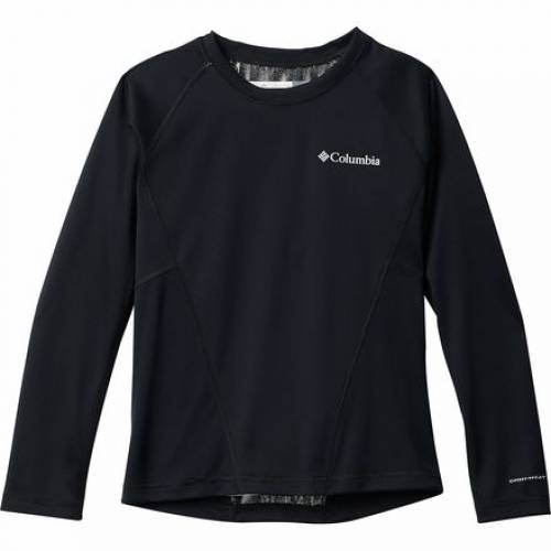 ファッションブランド 送料無料お手入れ要らず カジュアル ファッション 限定品 コロンビア クルー 黒色 ブラック ジュニア キッズ TOP MIDWEIGHT 2 BASELAYER BLACK B COLUMBIA CREW