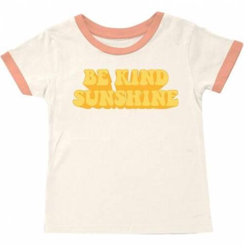 ファッションブランド カジュアル ファッション タイニーウェールズ゙ Tシャツ ナチュラル ジュニア 半額 キッズ NATURAL WHALES BE RINGER TSHIRT 年間定番 TINY KIND