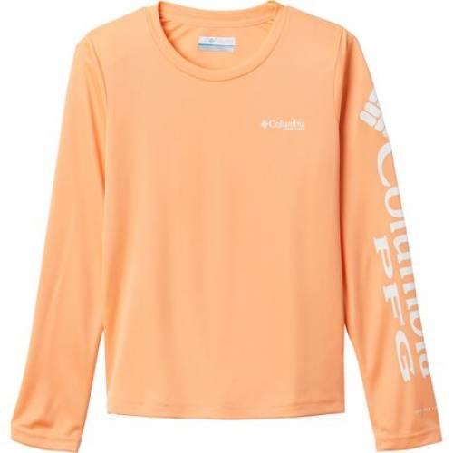 ファッションブランド ハイクオリティ カジュアル ファッション コロンビア Tシャツ ジュニア キッズ LONGSLEEVE TIDAL 新色追加 COLUMBIA BRIGHT TSHIRT NECTAR