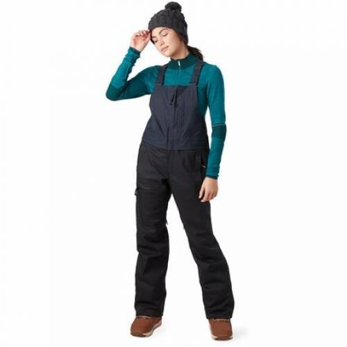 ファッションブランド カジュアル 新作からSALEアイテム等お得な商品満載 ファッション メーカー再生品 AIRBLASTER パンツ 黒色 ブラック HOT BIB スポーツ レディース ウインタースポーツ PANT スキー アウトドア BLACK ロングパンツ